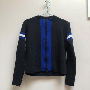 DKNY Wool Zipped Cardigan